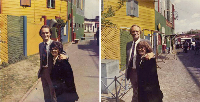 couples recreating old pictures 13