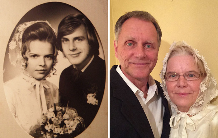 couples recreating old pictures 14