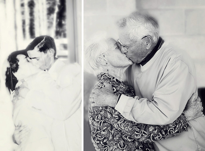 couples recreating old pictures 4