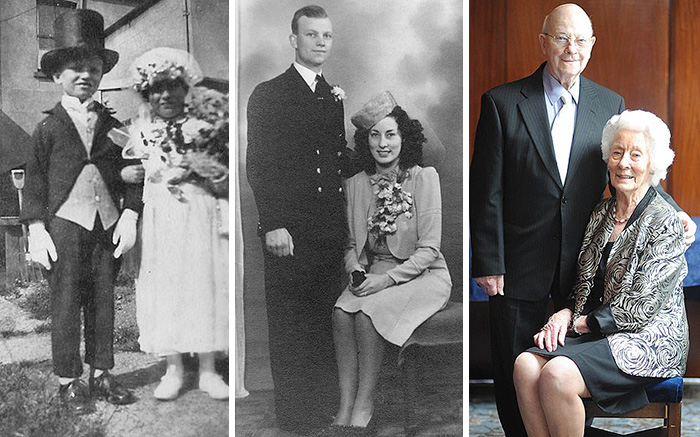 couples recreating old pictures 8