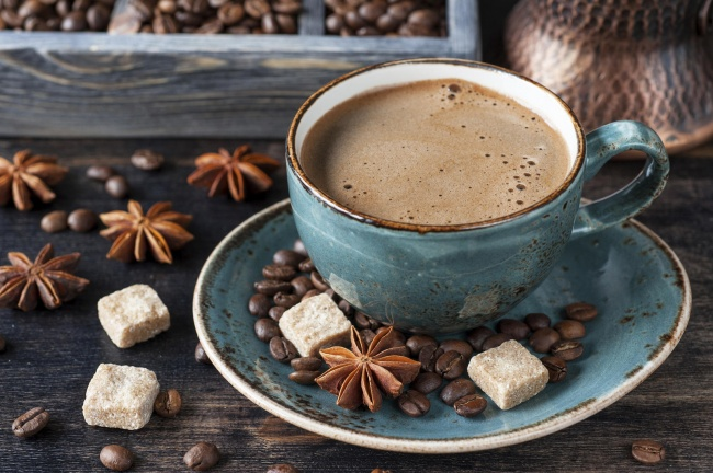 cup of coffee from all around the world
