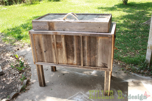 diy dream old cooler 13