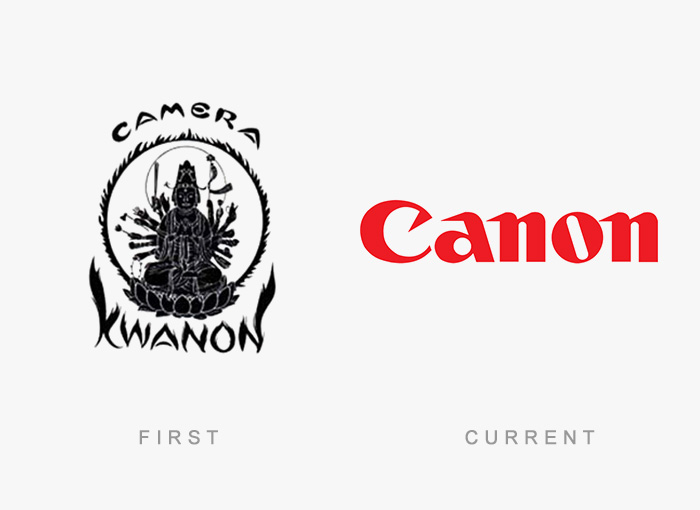 famous logos changed over time 10