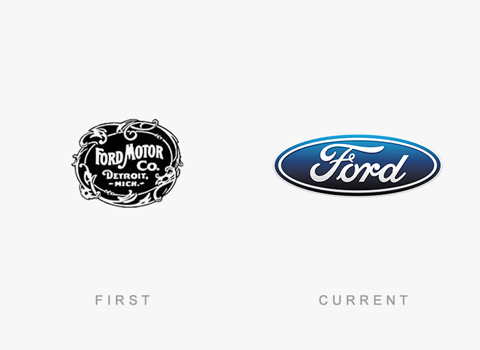 famous logos changed over time 13