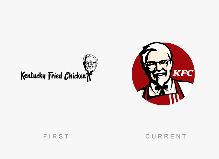 famous logos changed over time 15