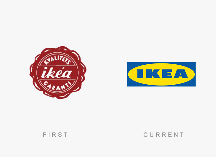 famous logos changed over time 19
