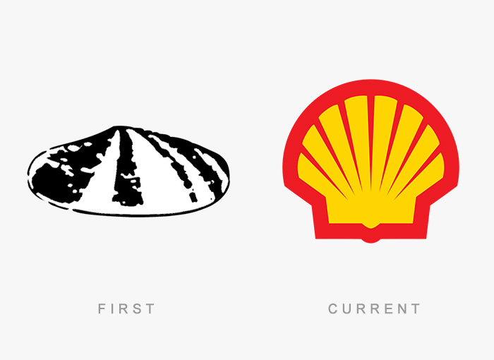 famous logos changed over time 20