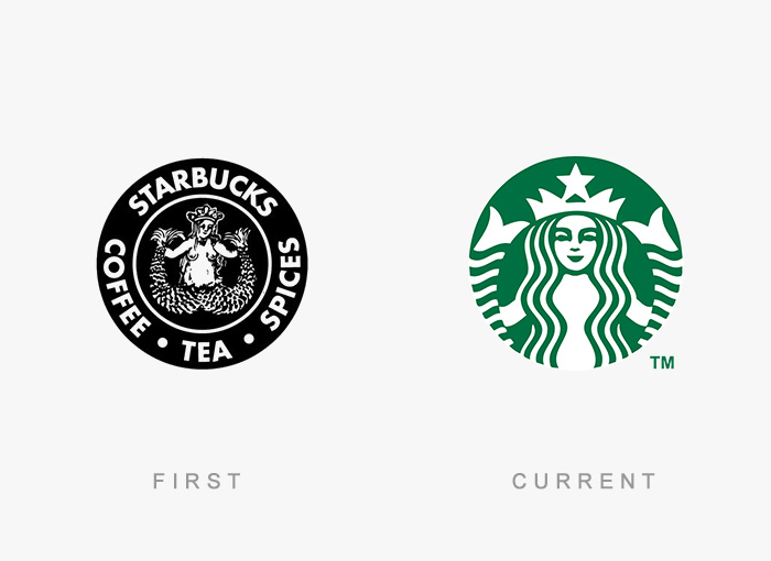 famous logos changed over time 3