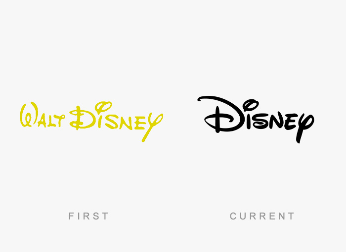 famous logos changed over time 5