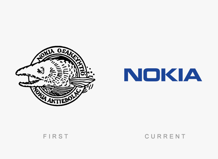 famous logos changed over time 7