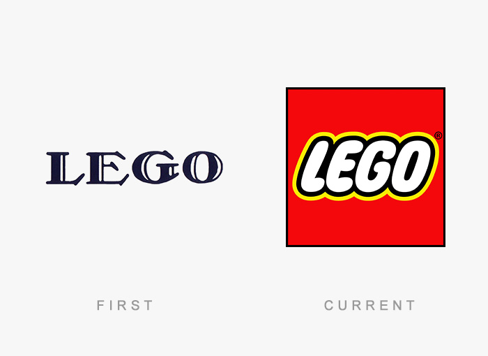 famous logos changed over time 8