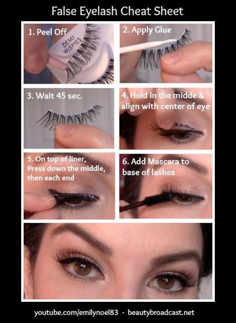 makeup charts 15
