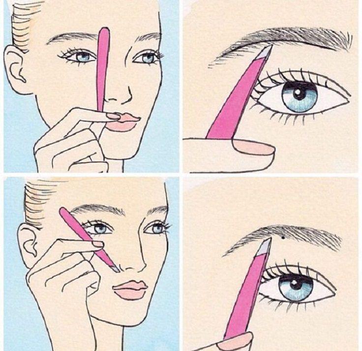 makeup charts 5