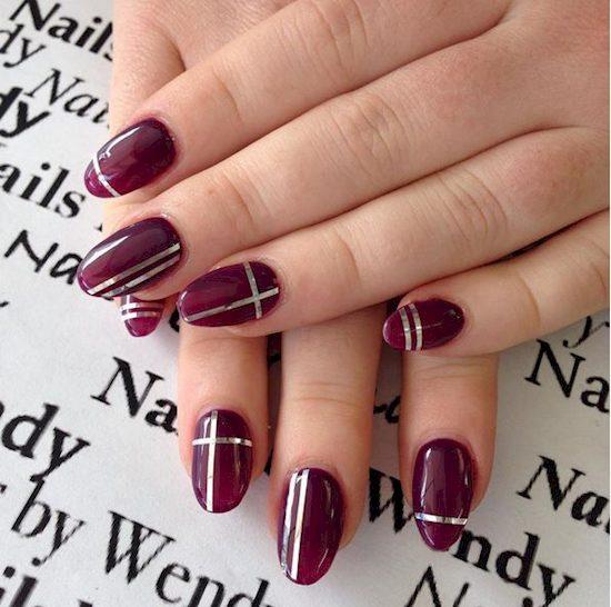 purple nail polish ideas 10