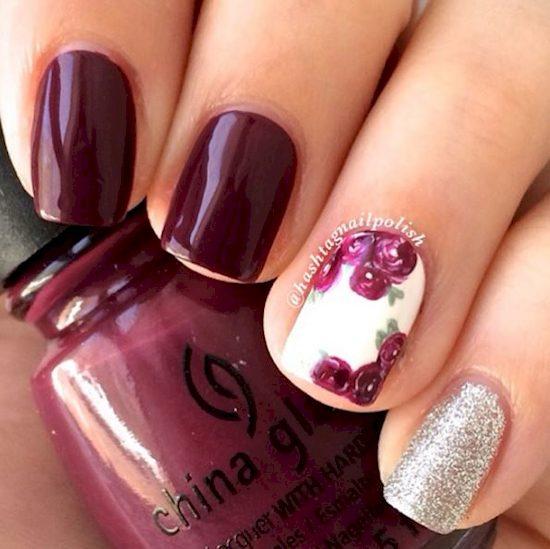 purple nail polish ideas 12
