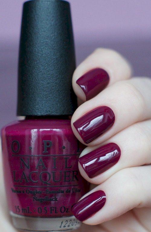 purple nail polish ideas 3