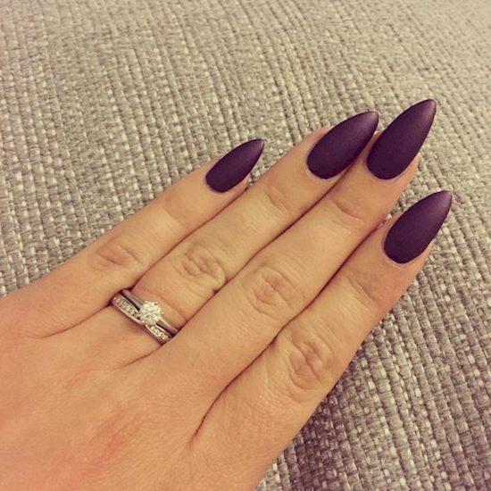 purple nail polish ideas 5