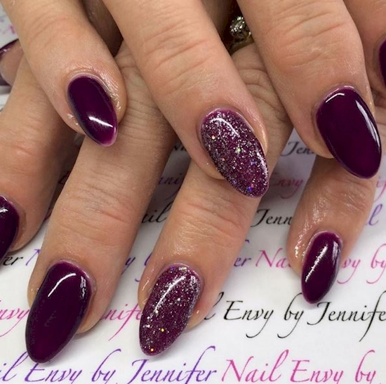 purple nail polish ideas 6