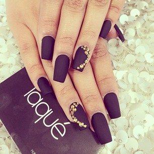purple nail polish ideas 8