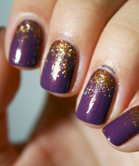 purple nail polish ideas 9
