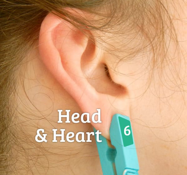 put clothespin on ear 7