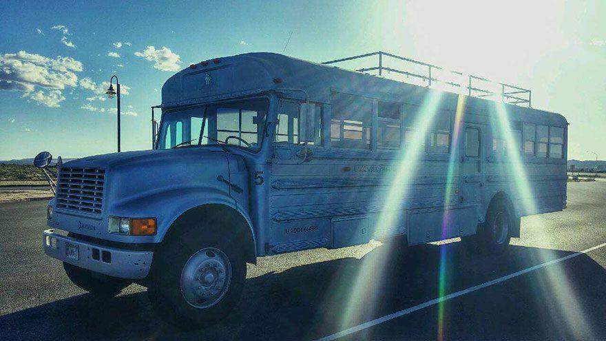 school bus dream house