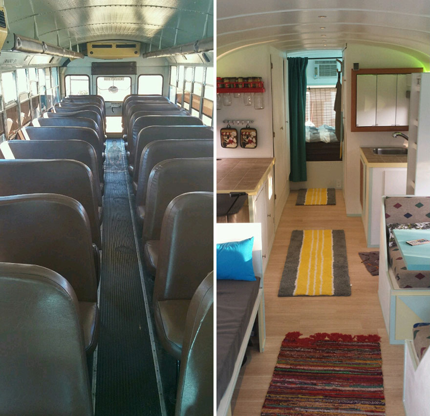 school bus dream house