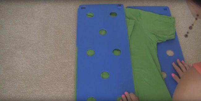 shirt folding technique 3