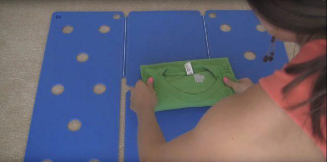 shirt folding technique 8