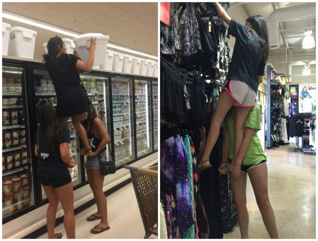 short girls situations 14