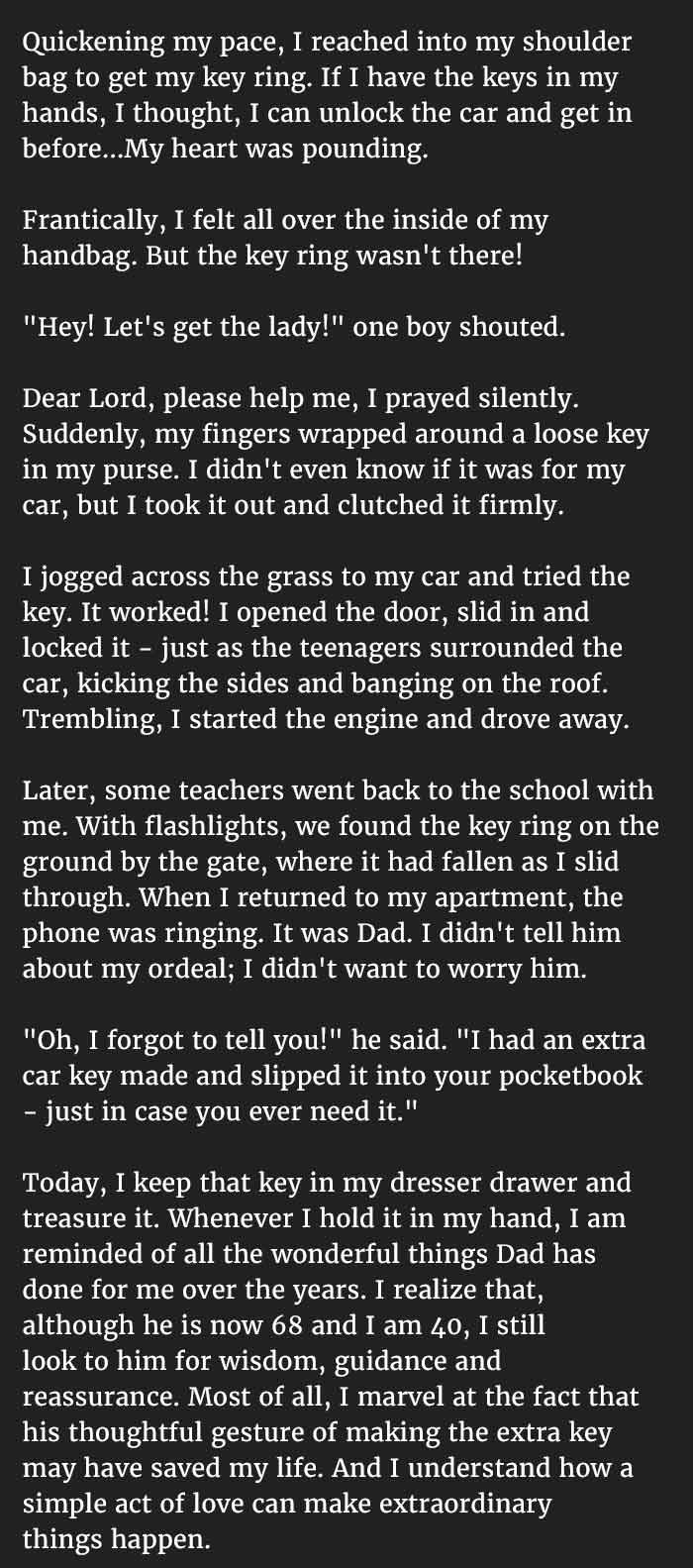 teacher try to save herself 3