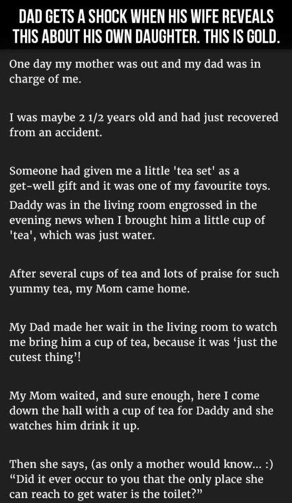 wife reveals daughter's revelation 1