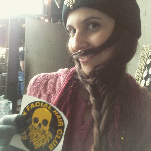 women beards hair design 10