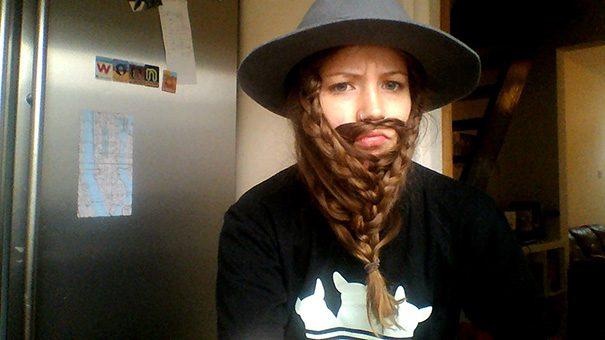 women beards hair design 11