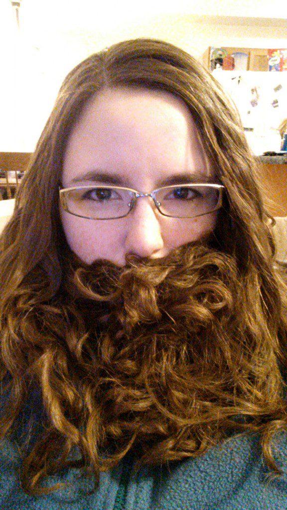 women beards hair design 16