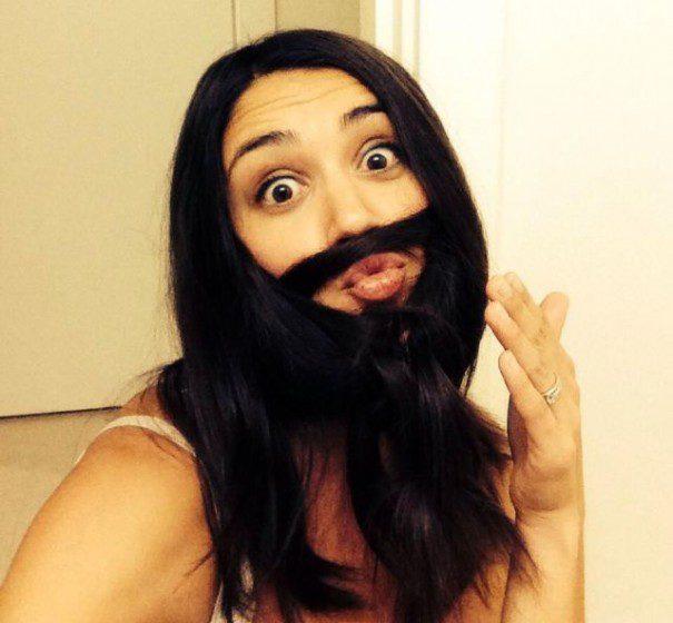 women beards hair design 20