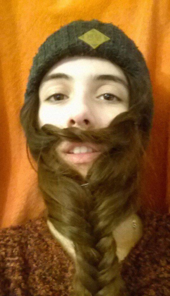 women beards hair design 27