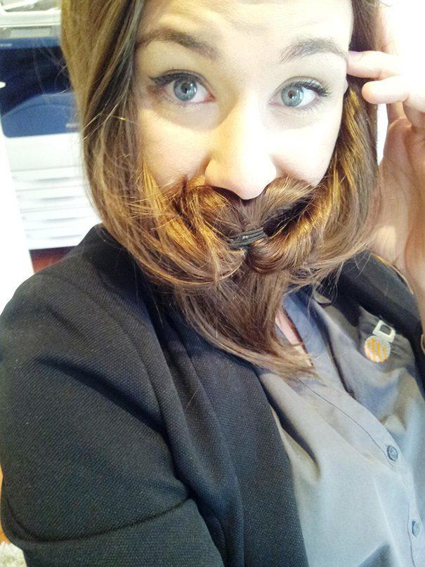 women beards hair design 31