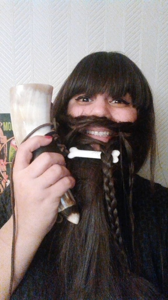 women beards hair design 35