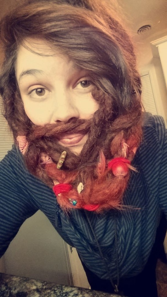 women beards hair design 38