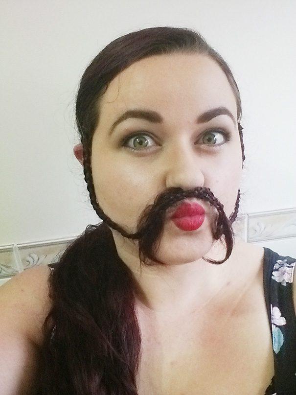 women beards hair design 4