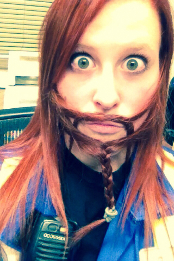 women beards hair design 40