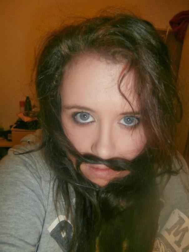women beards hair design 49