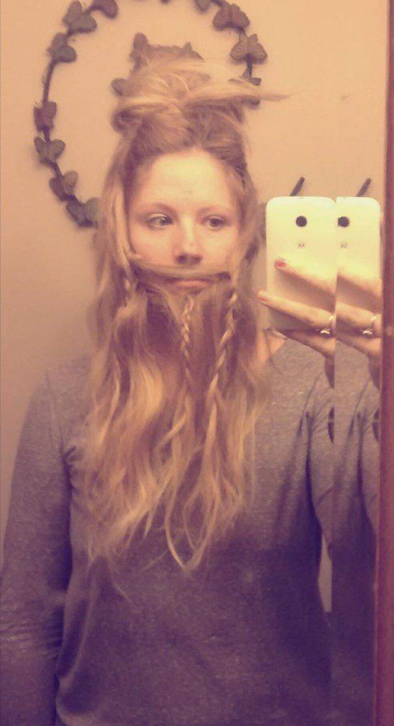 women beards hair design 52