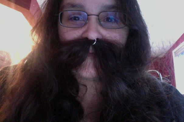 women beards hair design 54