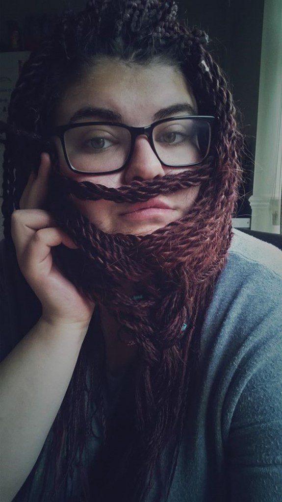 women beards hair design 56