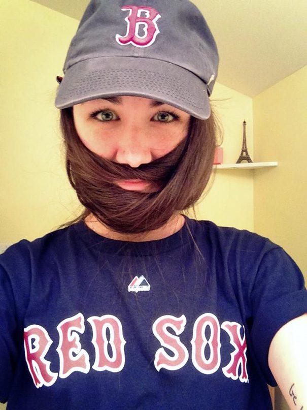 women beards hair design 8