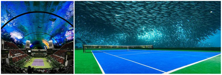 world's first underwater tennis court 2