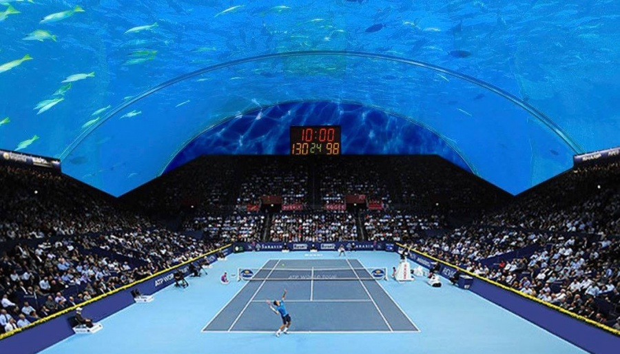 world's first underwater tennis court 3