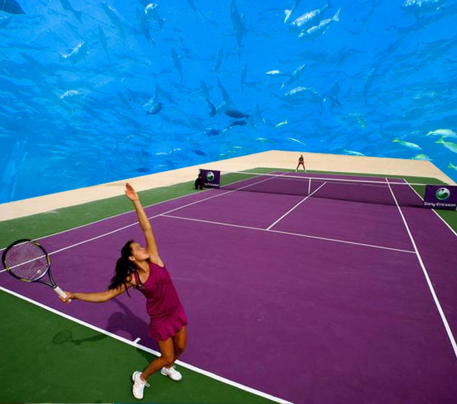 world's first underwater tennis court 4